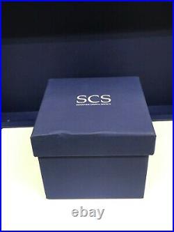 Swarovski Crystal 2010 SCS TIGER CUB Sitting Figurine #1016678 NEW in Box MINT
