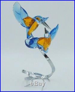 Swarovski Crystal 5136835 Kingfishers Turquoise Paradise Bird Couple 2016