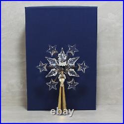 Swarovski Crystal 632785 ln box Gold Tree Topper