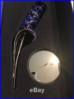 Swarovski Crystal 677990 Sapphire Dindori Flower 9601 040 201 Boxes Certificate