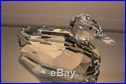 Swarovski Crystal 7647 Nr 250 Giant Mallard Duck Retired Signed Mint In Box
