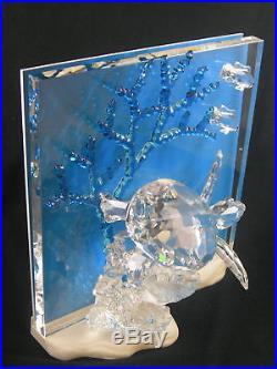 Swarovski Crystal 8 Wonders of the Sea Turtle Eternity with Box