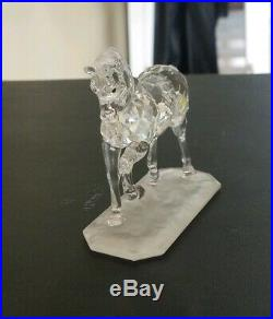 Swarovski Crystal Arabian Horse Stallion 7612 Nr 000 002 White Box Excellent
