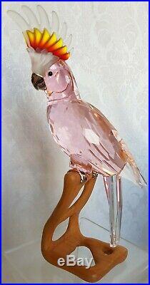 Swarovski Crystal BIRD Figurine PARADISE COCKATOO With Box & COA
