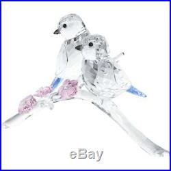 Swarovski Crystal BLUE TITS BIRD COUPLE 5004727