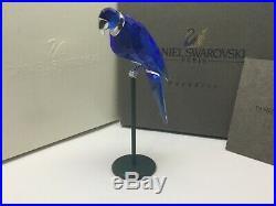 Swarovski Crystal Bird Paradise Balabac Sapphire Exotic Aviary Passion BiP3
