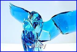 Swarovski Crystal Blue Parrots Lovely Bird Wedding 5136775 Brand New in Box