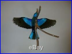 Swarovski Crystal Blue Turquoise Roller Bird