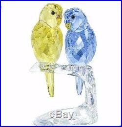 Swarovski Crystal Budgies Nib #5004725