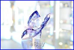 Swarovski Crystal Butterfly Violet Purple Tanzanit Bugs 1182454 Brand New In Box
