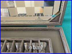Swarovski Crystal Chess Set with Case Retired