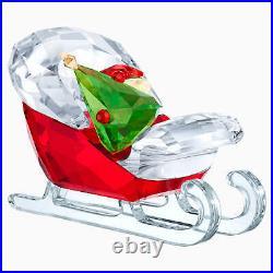 Swarovski Crystal Christmas Figurine SANTA'S SLEIGH 5403203 New