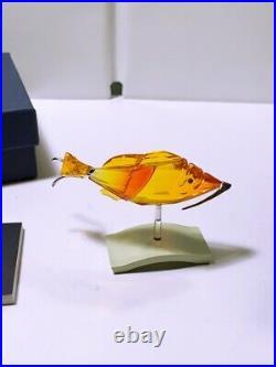 Swarovski Crystal Crotone Fire Opal Paradise Fish 626202 Mint In Box W Coa 2004