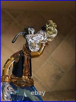 Swarovski Crystal Disney Goofy Figurine NIB #5301576