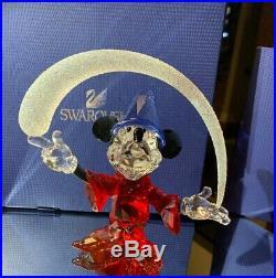 Swarovski Crystal Disney Sorcerer Limited edition, 5004740 Fantasia, NIB