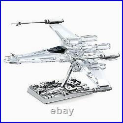 Swarovski Crystal Disney Star Wars X-WING STARFIGHTER 5506805 Brand New