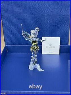 Swarovski Crystal Disney TINKERBELL Figurine #1073747 NEW in Box