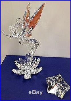 Swarovski Crystal Disney Tinkerbell Rare 2008 LE 905780 / 9100 000 090 MIB COA