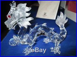 Swarovski Crystal Dragon Figurine Fabulous Creatures Annual Edition MIB WithCOA