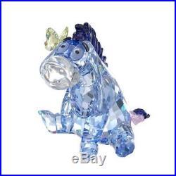 Swarovski Crystal Eeyore From Winnie The Pooh Disney Figurine 1142842 Brand New