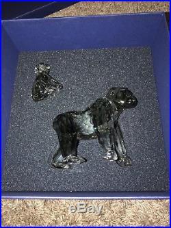 Swarovski Crystal Endangered Wildlife Gorillas (2009)