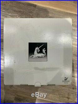 Swarovski Crystal Fabulous Creatures Annual Edition Unicorn 1996 MIB / COA