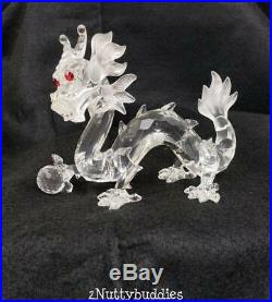 Swarovski Crystal Fabulous Creatures The Dragon 1997 Scs Annual Edition