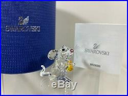 Swarovski Crystal Figure Mouse With Cheese 5004691 MIB WithCOA