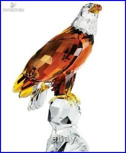 Swarovski Crystal Figurine 1042762 Limited Edition Bald Eagle MIB RARE LARGE