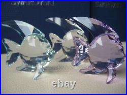 Swarovski Crystal Figurine #1043243 Fish (set of 3) $170 New in Box