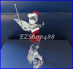 Swarovski Crystal Figurine #1143621 Christmas Tinker Bell 2012 RARE Newithbox