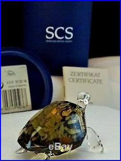 Swarovski Crystal Figurine, 2010 SCS Event Piece, GALAPAGOS TURTLE, Item # 995036