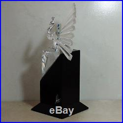 Swarovski Crystal Figurine, 218123 Limited Edition The Peacock, 7.5H $7000