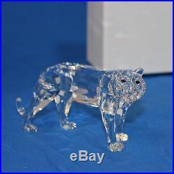 Swarovski Crystal Figurine, 220470 Tiger, 2.75'H $250 V MIB
