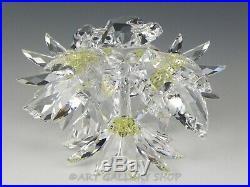 Swarovski Crystal Figurine #252976 IN THE SECRET GARDEN MAXI FLOWER ARRANGEMENT