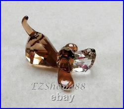 Swarovski Crystal Figurine #5155667 Gang of Dogs Peppino Lovlots New in Box RARE