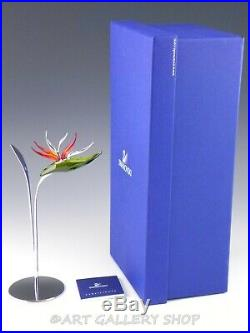 Swarovski Crystal Figurine #673420 PARADISE FLOWERS DALMALLY in Box