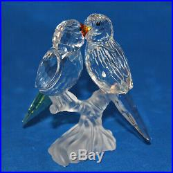 Swarovski Crystal Figurine 680627 ln box Budgies