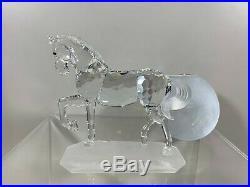 Swarovski Crystal Figurine Arabian Stallion 7612 000 002 / 221609 MIB WithCOA