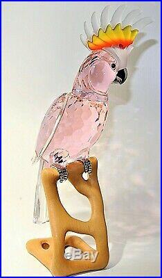 Swarovski Crystal Figurine Birds of Paradise Cockatoo 718565