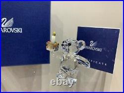Swarovski Crystal Figurine Birthday Kris Bear Your Big Day / 905791 MIB WithCOA