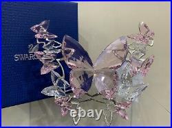 Swarovski Crystal Figurine Butterfly Rosaline Large 5031520 Pink Butterfly MIB