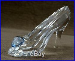 Swarovski Crystal Figurine Disney Cinderella Slipper Mib 5035515