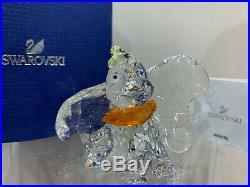 Swarovski Crystal Figurine Disney Collection Dumbo L. E. 2011 1052873 MIB WithCOA