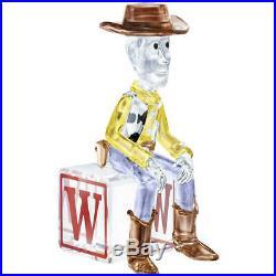 Swarovski Crystal Figurine Disney Toy Story Sheriff Woody 5417631 MIB WithCOA