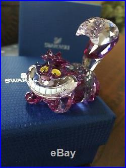 Swarovski Crystal Figurine Disneys Cheshire Cat Nib Retired 5135885