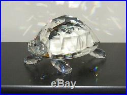 Swarovski Crystal Figurine GIANT TURTLE withCase & Box / NO COA / 010101