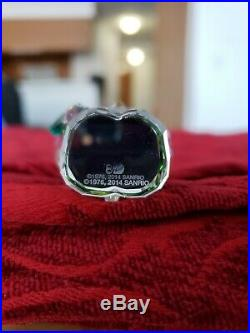Swarovski Crystal Figurine HELLO KITTY LUCKY CHARM 5268840 perfect cond. No box