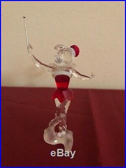 Swarovski Crystal Figurine LTD 2012 DISNEY CHRISTMAS TINKERBELL (RETIRED 2012)
