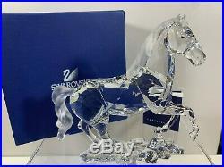 Swarovski Crystal Figurine Large Stallion 9100 000 068 / 898508 MIB WCOA